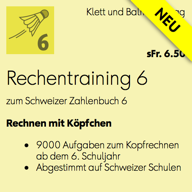 Rechentraining 6