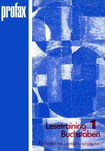 Lesetraining 1: Buchstaben