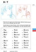 Lesetraining 3 – Wörter: Unterscheidung D - T