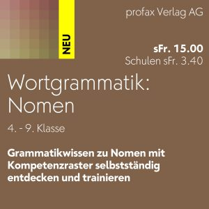 Wortgrammatik: Nomen