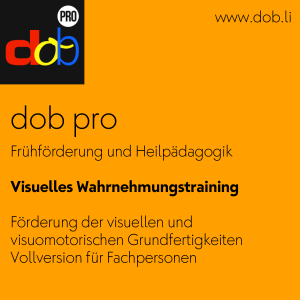 dob – Visuelles Wahrnehmungstraining