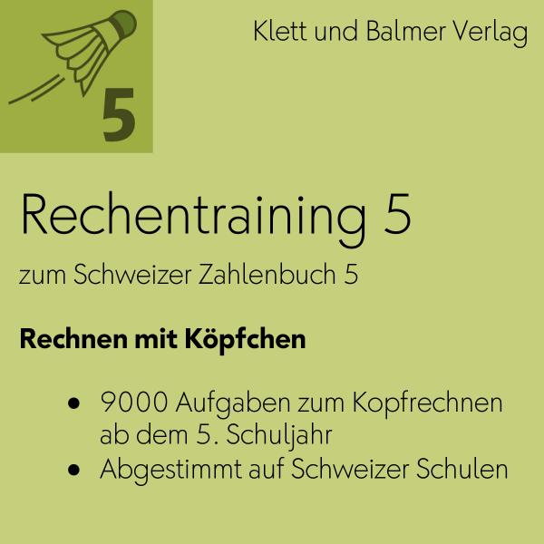 Rechentraining 5