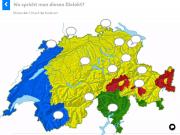 Geografie Schweiz: Dialekte der Schweiz