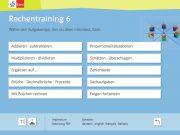 Rechentraining 6: Aufgabentypen