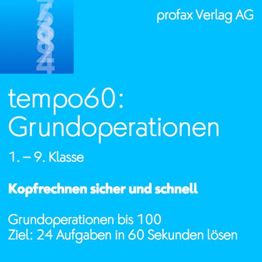 tempo60: Grundoperationen