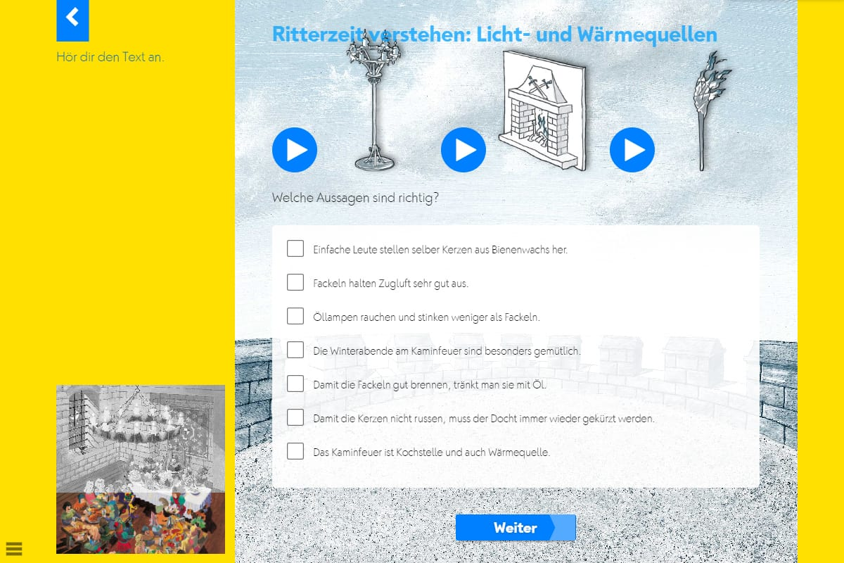 Hörwelt Ritter – Ritterzeit verstehen