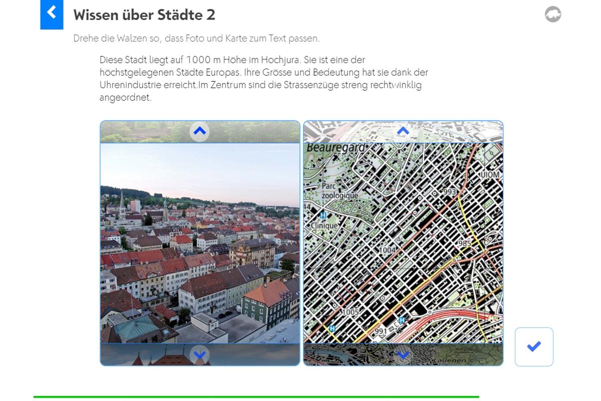 Geografie Schweiz: Wissen über Städte